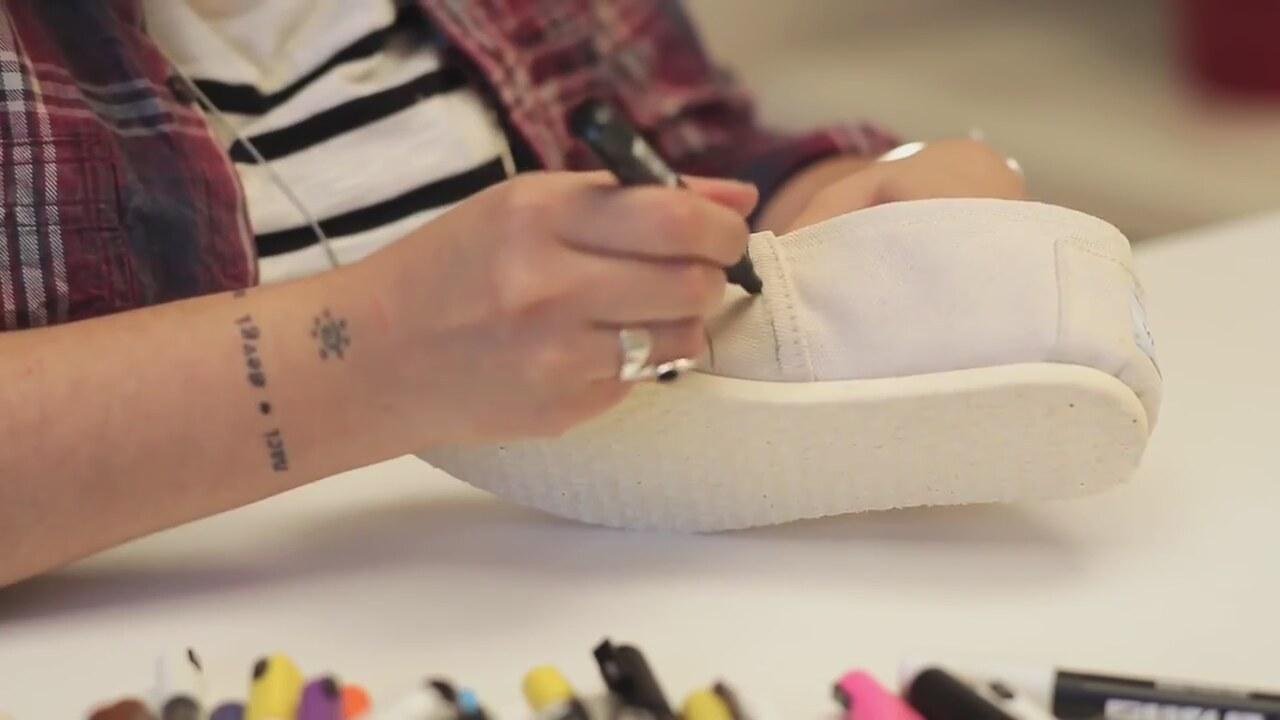 Bez ayakkabı nasıl boyanır