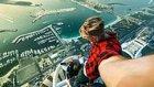 Dubai'de Bulunan Princess Tower'ın Tepesinde Vakit Geçiren Çılgın Rus İkili