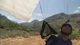 Erzincan Kemaliye'de Wingsuit Atlayışı