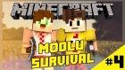 Game of Mods #4:Diamond mu o ? [Facecam - Modlu Survival]