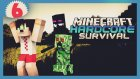 Minecraft Hardcore Survival - 6 - İskele