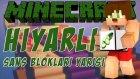 Minecraft Hıyarlı Şans Blokları Yarışı !