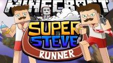Minecraft Parkur Haritası : Super Steve Runner - Çılgın BugraaK !