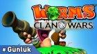 Günlük Ekstra : Worms Clan Wars #türkçe