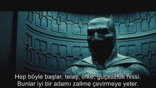 Batman v Superman Adaletin Şafağı İlk Fragman Türkçe Altyazılı