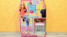 Barbie Oyuncak - Barbie Masa ve Sandalye Takımı - Evcilik TV Barbie Oyuncak Tanıtım Videoları