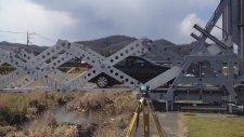 Origami'den İlham Alan Taşınabilir Köprü