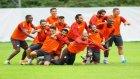 Galatasaray antrenmanına Melo damgası