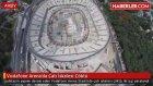 Vodafone Arena'da Çatı İskelesi Çöktü