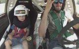 Test Pilotunun 5 Yaşındaki Oğlu ile Sürüşü