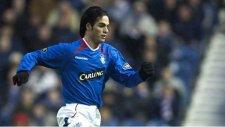 Rangers forması giyerken Mikel Arteta