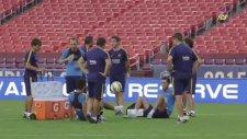 Barcelona Antrenmanında Arda&busquets Şov!