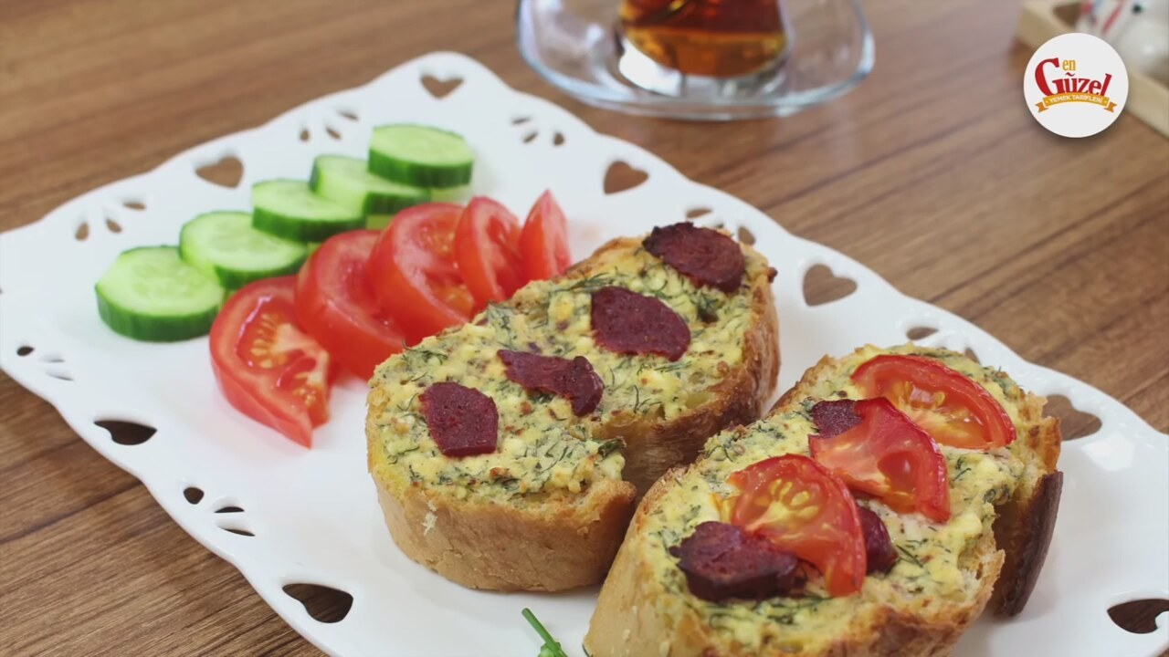 Kahvaltılık Ekmek Tarifi