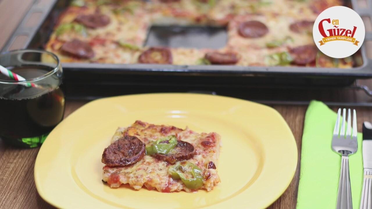 Video Evde Pizza Nasıl Yapılır Videosu