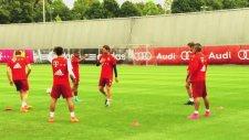 Arturo Vidal antrenmanda rezil oldu