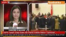 CHP'li Tanal'ı Darp Eden AK Partili Vekile Rekor Tazminat Cezası