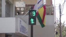 Peru'da Enteresan Trafik Lambası