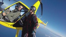 Helikopterden Wingsuit Atlayışı Ve Muhteşem Manzaralar