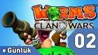 Günlük Ekstra : Worms Clan Wars - 2. Bölüm #Türkçe