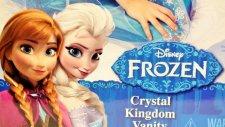 Karlar Ülkesi Elsa ve Anna Kristal Krallık Güzellik Masası Tanıtımı - EvcilikTV Oyuncak Tanıtımları