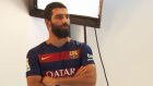 Barcelona'lı Futbolcular Fotoğraf Çekiminde