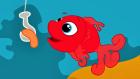 Kırmızı Balık Gölde - Adisebaba Çocuk Şarkıları