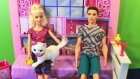 Barbie Bebek Kedisine Tuvalet Eğitimi Veriyor - Evcilik TV Evcilik Oyunları