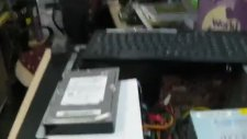Çalışan Bilgisayarın Hard Diskine Su Dökmek