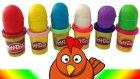 Oyun Hamuru Sürpriz Yumurta Oyuncak Hayvan Figürleri