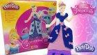 Play Doh Disney Prenses Sindirella Oyun Hamuru Oyuncak Elbise Tasarım Seti OyunHamuruTV