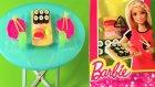 Barbie Oyuncak Bebek Aksesuarları Tanıtımı 2 - Suşi Takımı - Evcilik TV Barbie Videoları
