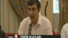 Kalkınma Bakanı Cevdet Yılmaz Diyarbakır'da basın mensuplarıyla bir araya geldi