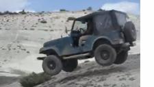Jeep Cj5, Dört Teker Yerden Kesiliyor