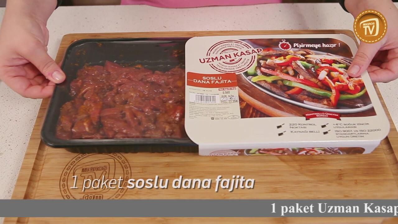 Tavuk Fajita Tarifi Videosu