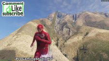 GTA 5 The Flash Man #2 (GTA V PC Mods Gameplay Funny Moments)