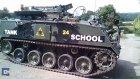 101'inci Yaşına Tank Sürerek Girdi