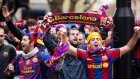 Barcelona Taraftarı Kendinden Geçti