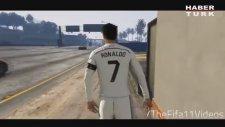Cristiano Ronaldo'yu GTA 5'in içerisine koydular