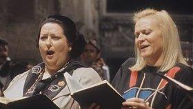 Claudio Abbado in rehearsal Requiem Verdi (Caballé, Dvorsky, Ramey; La Scala, 1985)