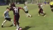 Beşiktaşlı gencin golü sanal alemi salladı