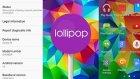 Galaxy S5'e Gelen, Android 5.0 Lollipop Güncellemesini İnceledik
