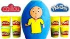 Caillou Oyun Hamuru DEV Sürpriz Yumurta Oyuncak Açma