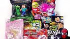 Sürpriz Oyuncak Paketleri Açma Minecraft Ben 10 Hello Kitty Invizimals Ninja Zombie Joke