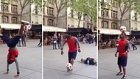 Futbol Topuyla Dans Eden Muhteşem Yetenek