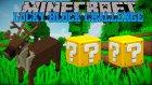 Minecraft: ALBİNO REİNDEER CHALLENGE - Lucky Block Mod - Bölüm 2 w/Ahmet Aga