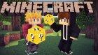 Minecraft: GİNGERBREAD MAN CHALLENGE - Lucky Block Mod - Bölüm 1 w/Gereksiz Oda