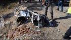 Otobüs ile otomobil çarpıştı: 5 ölü, 1 yaralı