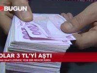 Elhamdülillah Doların 3 TL'yi Görmesi