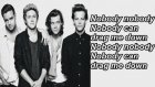 One Direction Dragme Down Lyrics+Special Pictures
