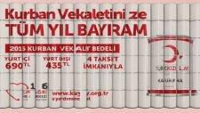 Türk Kızılayı Kurban Vekaleti 2015